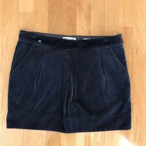 Madewell Corduroy Mini Skirt